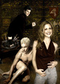 Buffy & her Vampires - bangel-vs-spuffy fan art