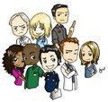 Cartoon cast