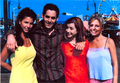 Charisma C,Nicholas B,Aly H,Sarah - btvs-behind-the-scene photo