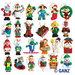 Christmas Webkinz Figures