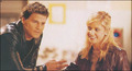 David B. & Sarah M.Gellar - btvs-behind-the-scene photo