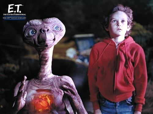 E.T karatasi la kupamba ukuta