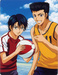 Echizen and Momoshiro - prince-of-tennis icon