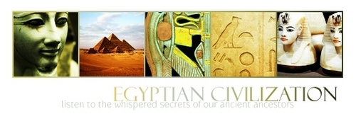Egyptian Civilization Banner