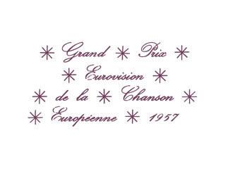 Eurovision 1957