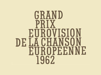 Eurovision Song Contest wallpaper entitled Eurovision 1962