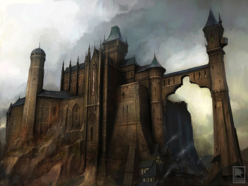 "Fable 2 concept art ""Castle"""