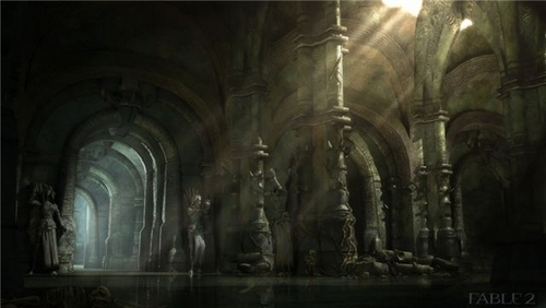 "Fable 2 concept art ""Dungeon"""