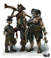 "Fable 2 concept art ""Poor Family"" - fable photo"