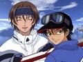 Fuji Syusuke and Echizen Ryoma