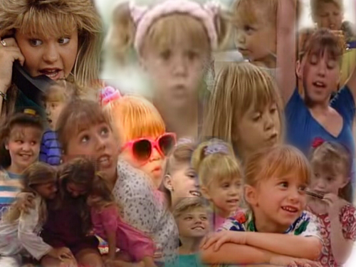Full House wallpaper containing a portrait titled Full House