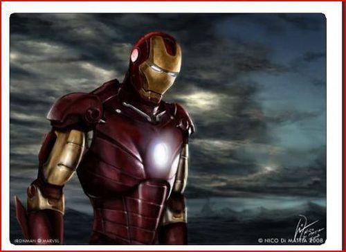 Iron man speed painting