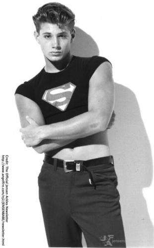 Jensen In His Modelling Days