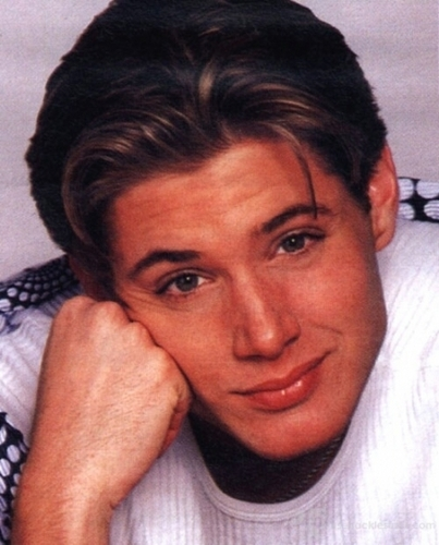 Jensen In His Modelling Days