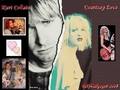 Kurt & Courtney - kurt-cobain wallpaper
