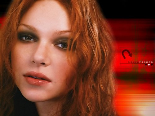 Laura Prepon wallpaper with a portrait entitled Laura