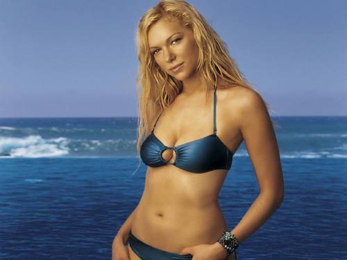Laura Prepon wallpaper with a bikini titled Laura