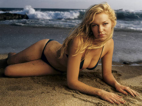 Laura Prepon wallpaper with a bikini titled Laura