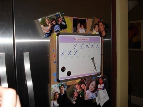 On Brooke's fridge