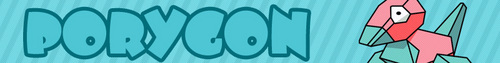 Porygon banner