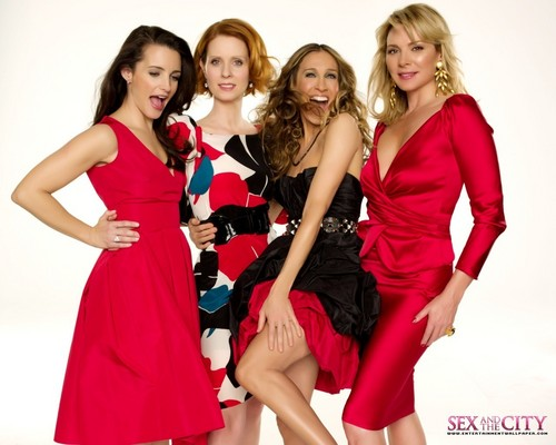 Sex and the City wallpaper containing a cocktail dress called Satc