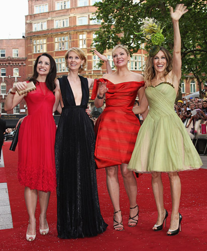 Sex and the City: the movie world premiere in Londres