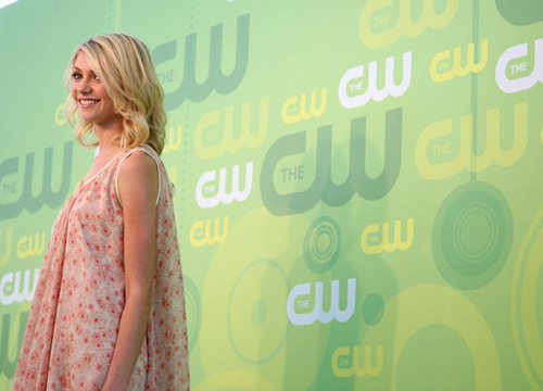 Taylor at CW Upfronts