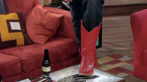 The Red Cowboy Boots - how-i-met-your-mother Photo
