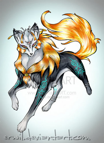 serigala, wolf Midna