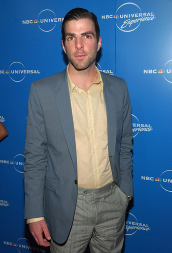 Zach at the NBC Universal Experience