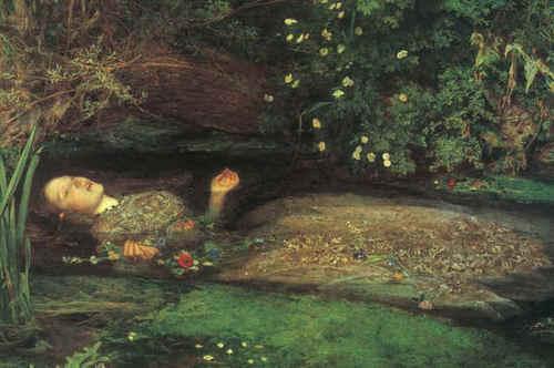 lebih Pre Raphaelite art