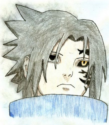 sasuke uchia curse mark