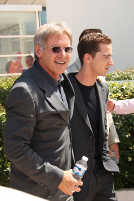 """> 2008 Cannes foto Call for """"Indiana Jones"""""""