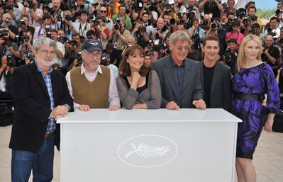 "> 2008 Cannes تصویر Call for ""Indiana Jones """