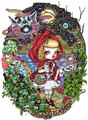 Little Red Psychosis - fairy-tales-and-fables fan art