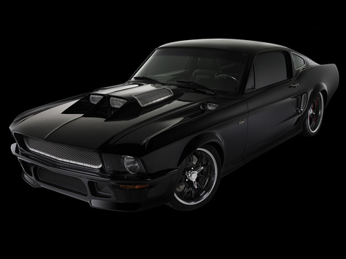 2008 Obsidian-SG-One Ford Mustang