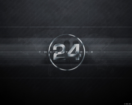 24 wallpaper probably containing a sign entitled 24