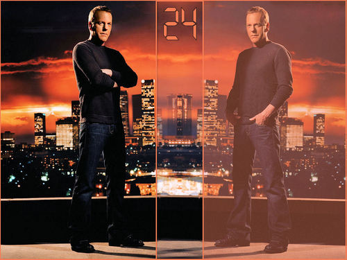24 wallpaper possibly containing a business suit and a concert entitled 24 Jack bauer