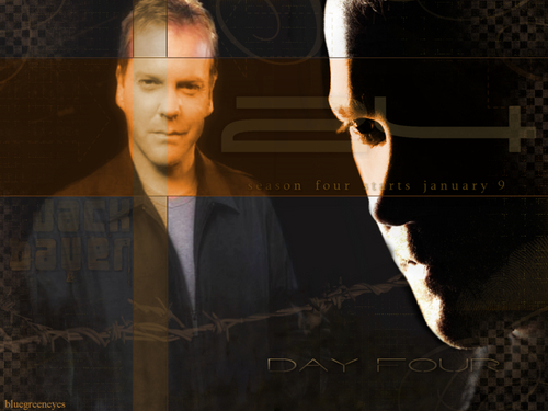 24 wallpaper probably containing a well dressed person, a sign, and a business suit titled 24 Kiefer Sutherland