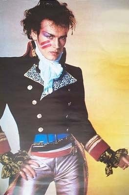 80's Adam Ant, new romantic