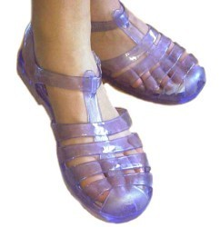 80's jellie shoes