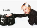 Ad: Vanessa Paradis - chanel wallpaper