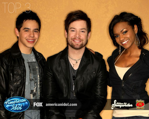 American Idol wallpaper probably containing a well dressed person and a business suit titled American Idol season7