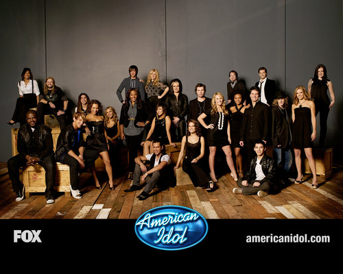 American Idol Hintergrund containing a konzert titled American Idol season7