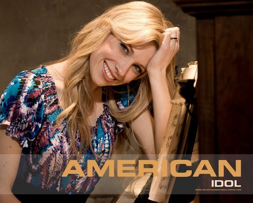 American Idol Hintergrund possibly with a portrait entitled American Idol season7
