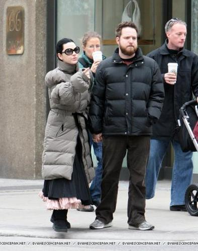 Amy and Josh out in Toronto