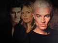 Angel Buffy & Spike - bangel-vs-spuffy wallpaper