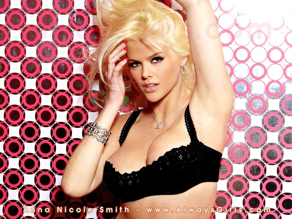 anna nicole smith nude hd wallpaper