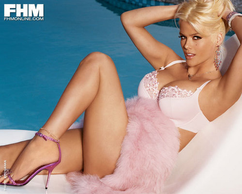 Anna Nicole Smith for FHM