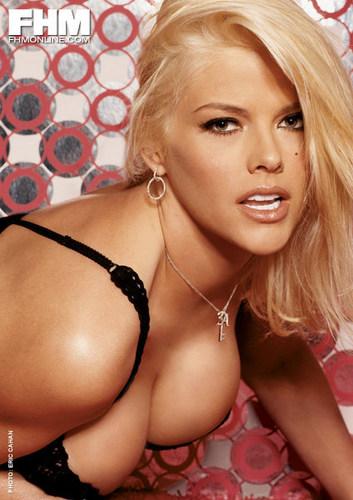 Anna Nicole Smith for FHM